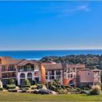 Panoramudsigt, havudsigt, middelhavet, lejlighed, sydfrankrig